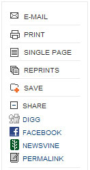 The New York Times has added buttons for Digg, Newsvine and Facebook