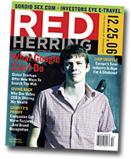 Red Herring cover, featuring Nikolaj Nyholm